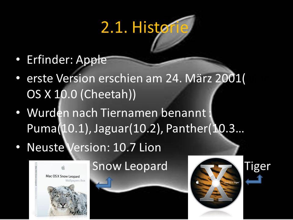 2.1. Historie Erfinder: Apple