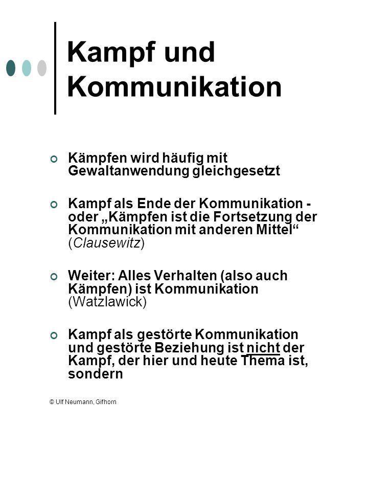 Kampf und Kommunikation