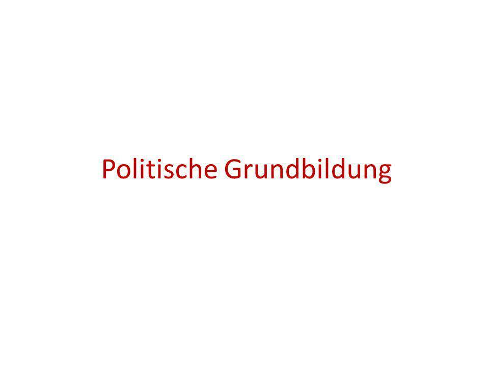 Politische Grundbildung