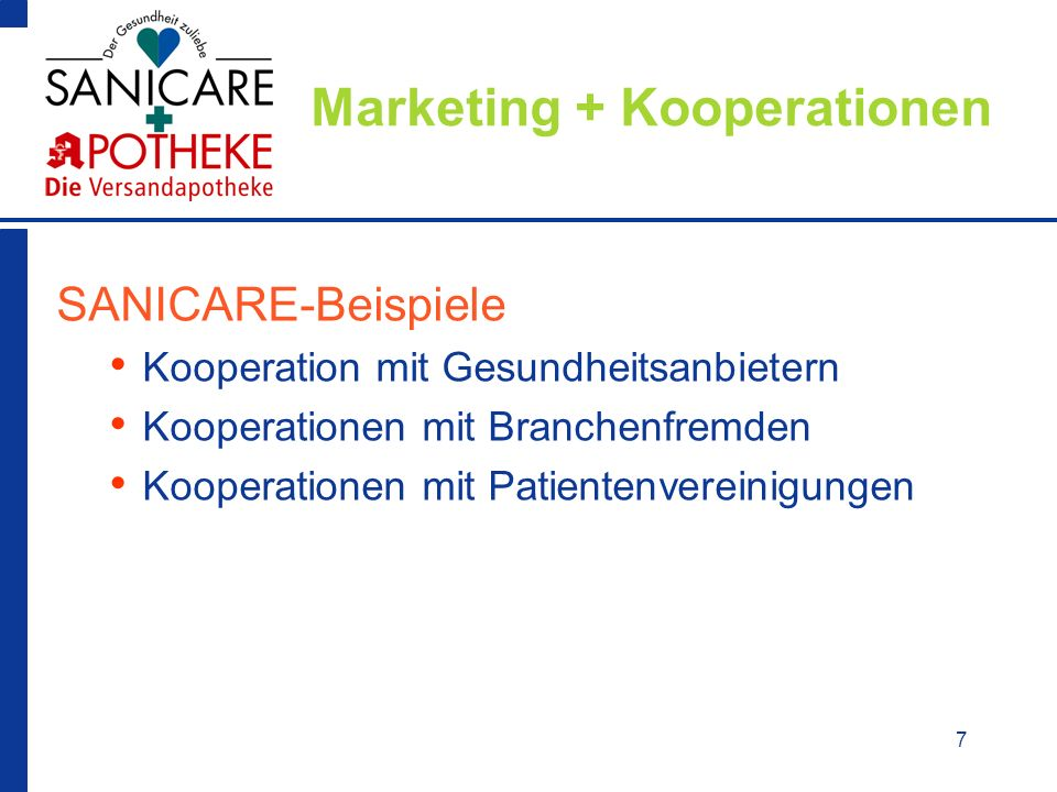 Marketing + Kooperationen