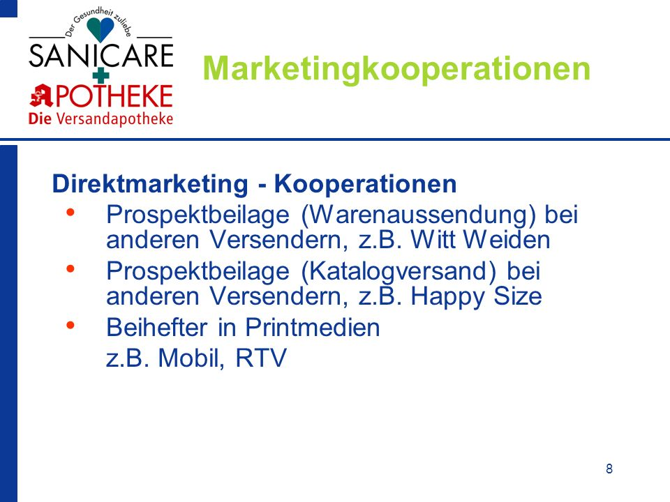 Marketingkooperationen