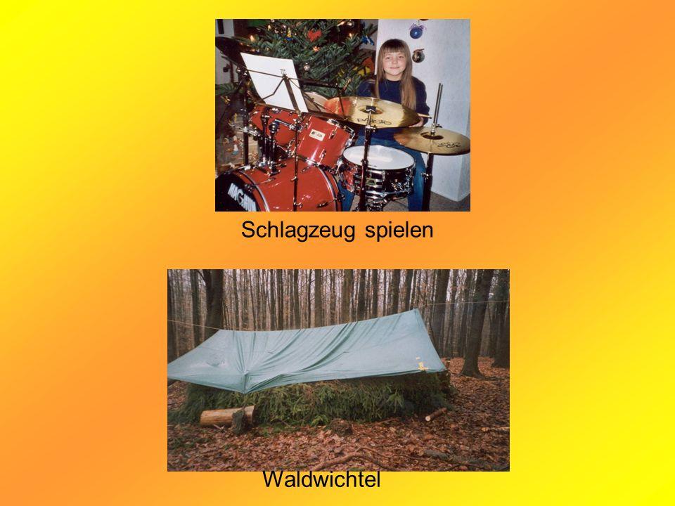 Schlagzeug spielen Waldwichtel