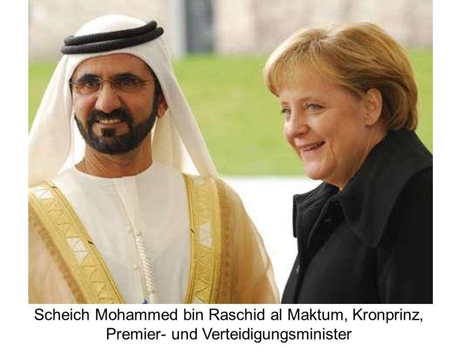 Scheich Mohammed bin Raschid al Maktum, Kronprinz, Premier- und Verteidigungsminister