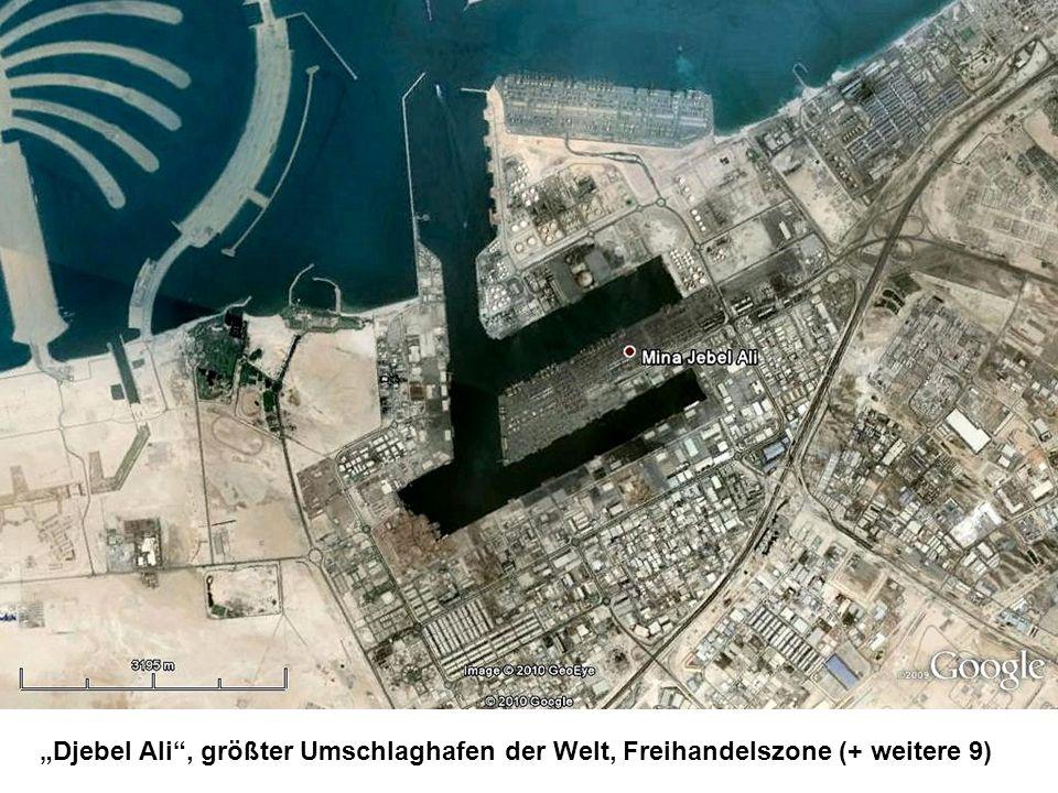 """""""Djebel Ali , größter Umschlaghafen der Welt, Freihandelszone (+ weitere 9)"""