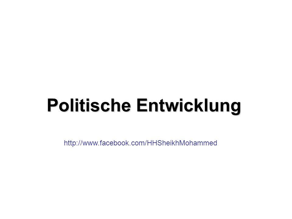 Politische Entwicklung