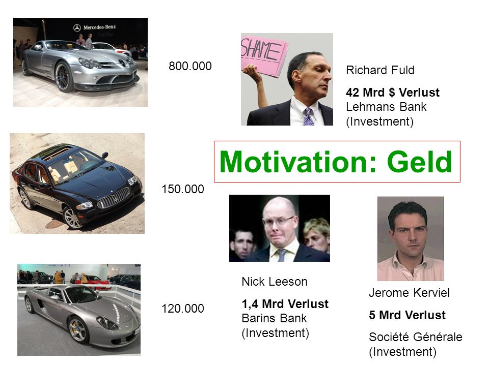 Motivation: Geld 800.000 Richard Fuld