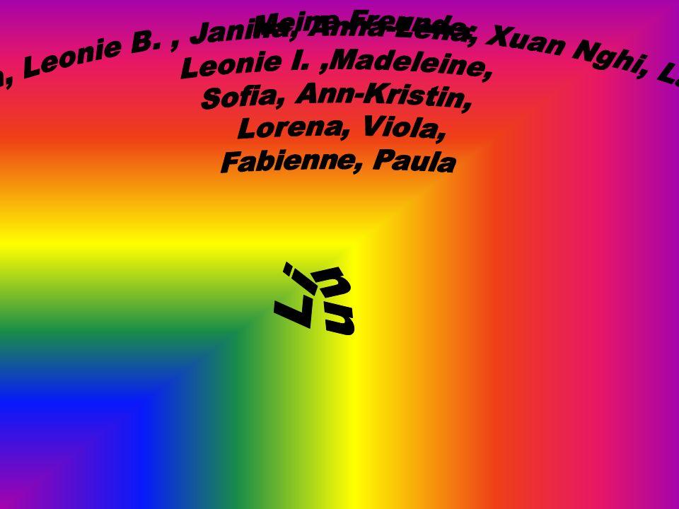 Linn, Leonie B. , Janina, Anna-Lena, Xuan Nghi, Laura,