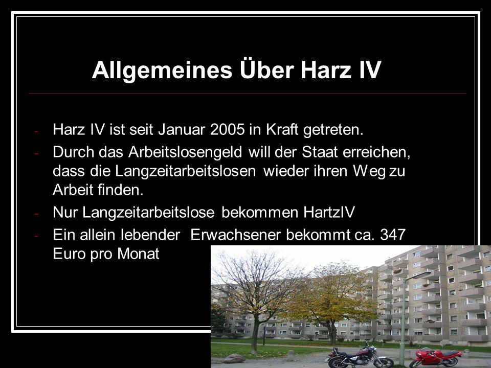 Allgemeines Über Harz IV