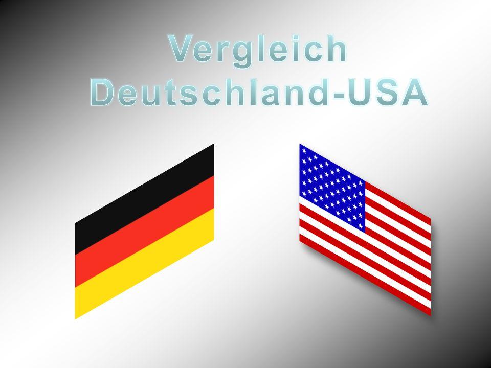Vergleich Deutschland-USA