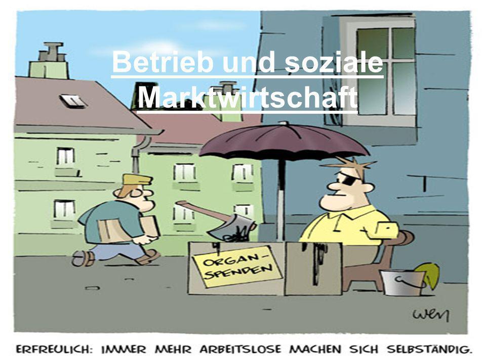 Betrieb und soziale Marktwirtschaft