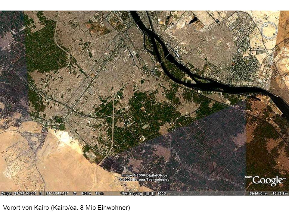 Vorort von Kairo (Kairo/ca. 8 Mio Einwohner)