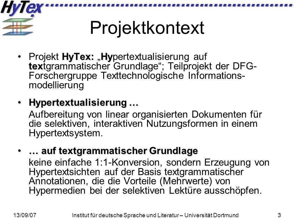 Projektkontext