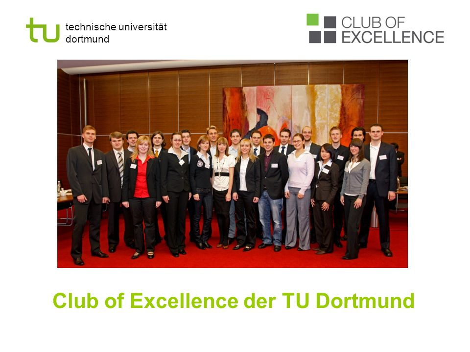 Club of Excellence der TU Dortmund