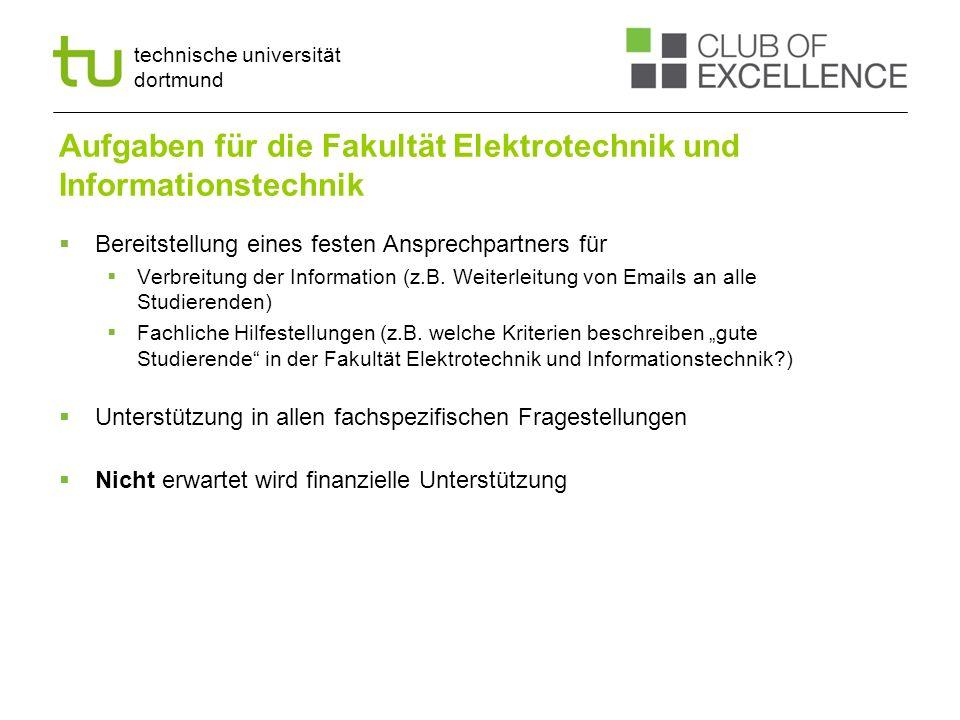 Aufgaben für die Fakultät Elektrotechnik und Informationstechnik