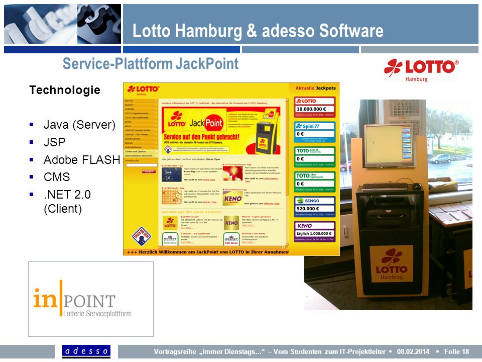 Lotto Hamburg & adesso Software