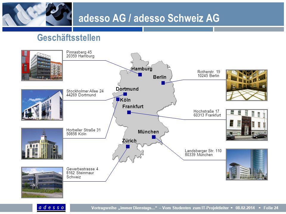 adesso AG / adesso Schweiz AG