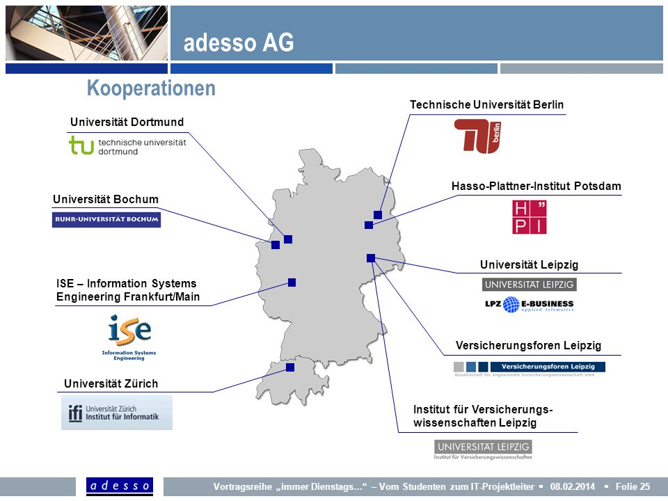 adesso AG Kooperationen Technische Universität Berlin
