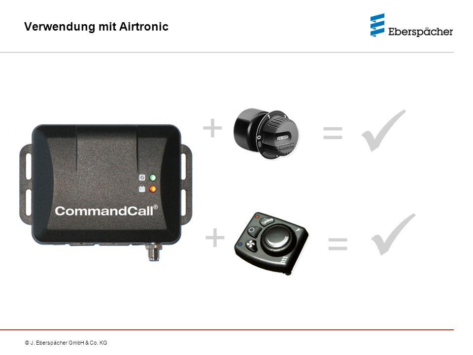 Verwendung mit Airtronic