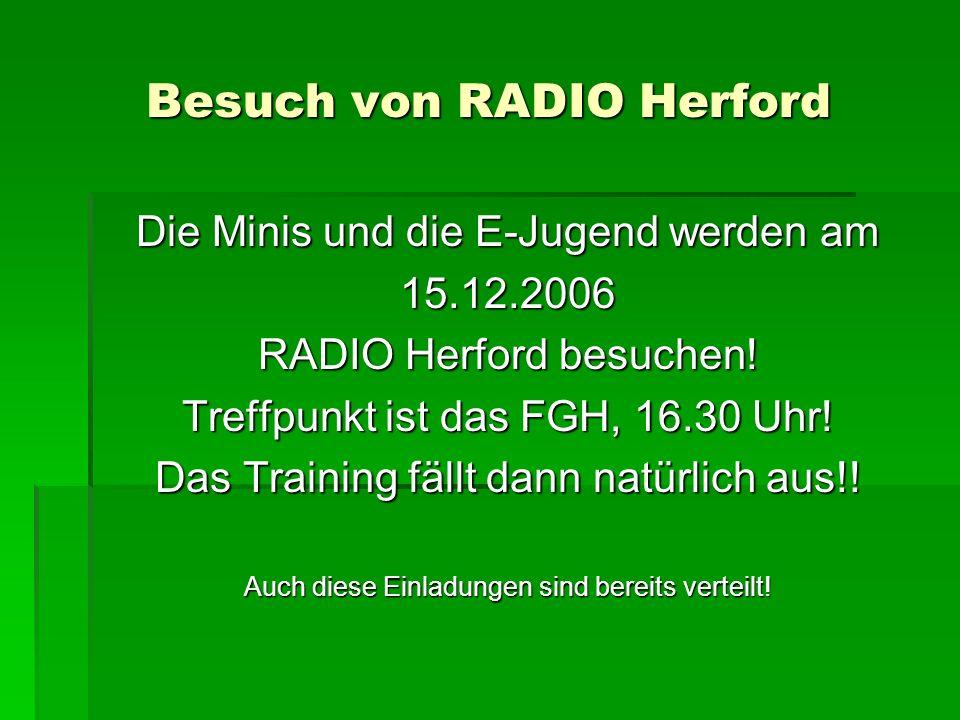 Besuch von RADIO Herford