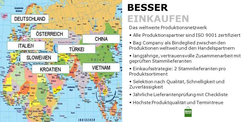 BESSER EINKAUFEN Das weltweite Produktionsnetzwerk