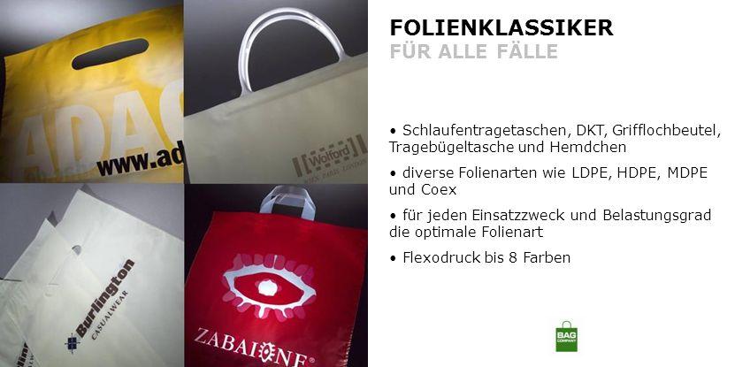 FOLIENKLASSIKER FÜR ALLE FÄLLE