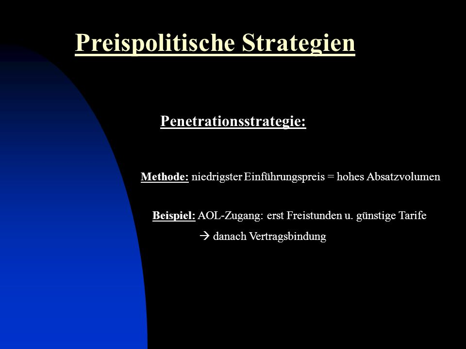 Penetrationsstrategie: