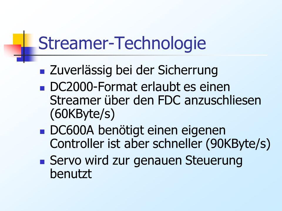 Streamer-Technologie