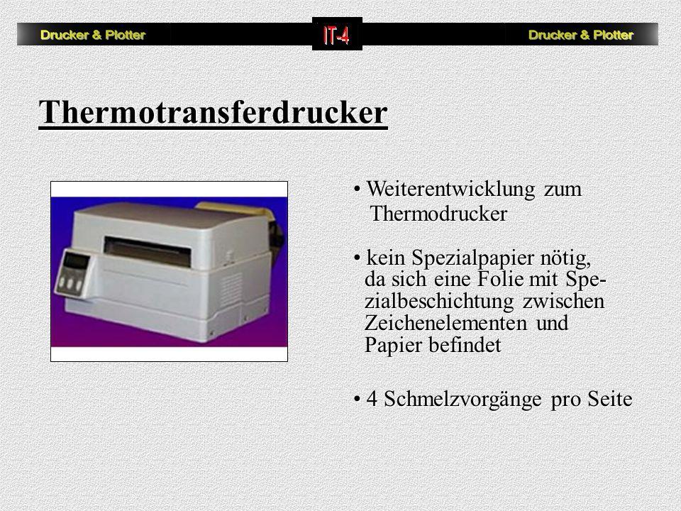 Thermotransferdrucker