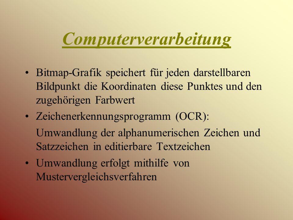 Computerverarbeitung