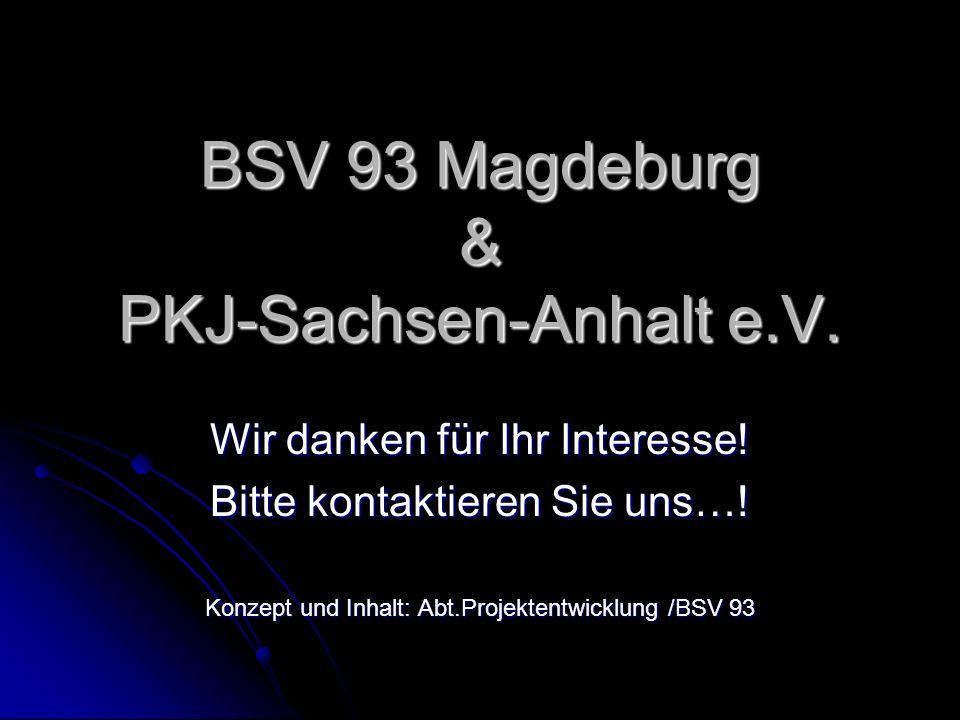 BSV 93 Magdeburg & PKJ-Sachsen-Anhalt e.V.