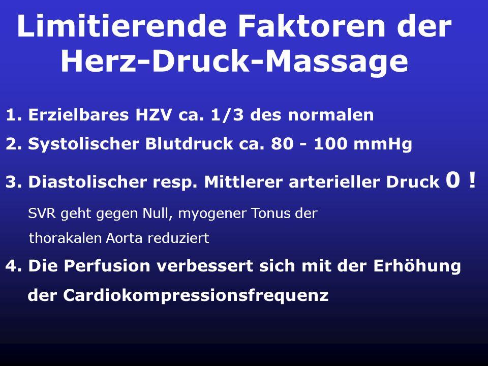 Limitierende Faktoren der Herz-Druck-Massage