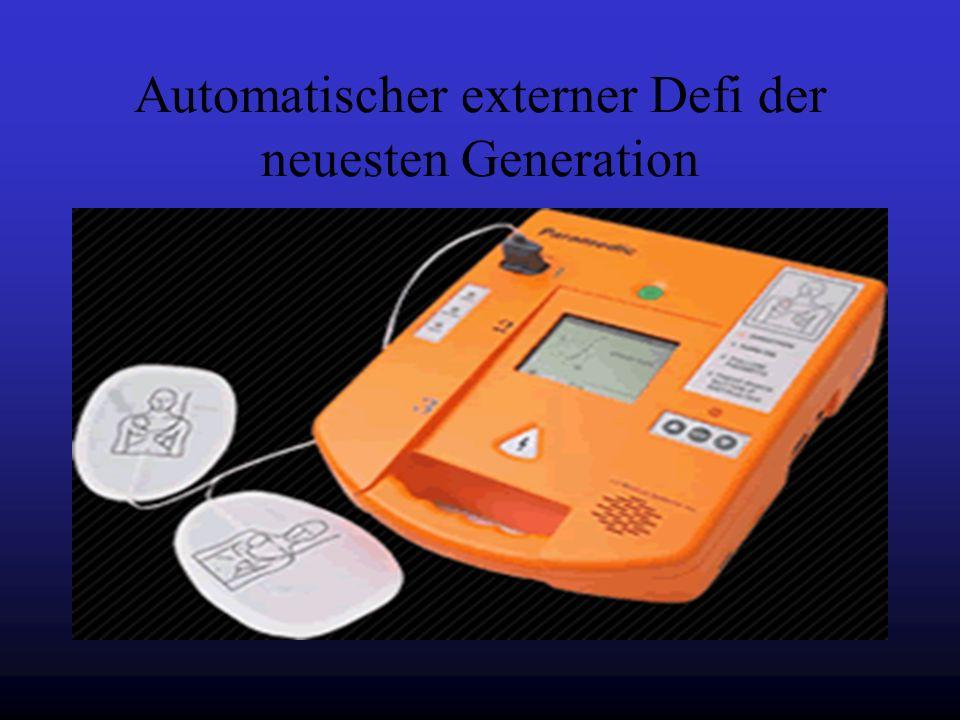 Automatischer externer Defi der neuesten Generation