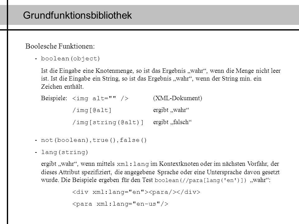 Grundfunktionsbibliothek