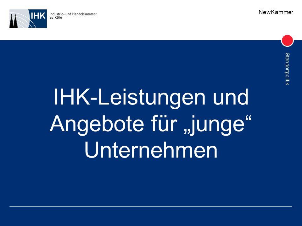 """IHK-Leistungen und Angebote für """"junge Unternehmen"""