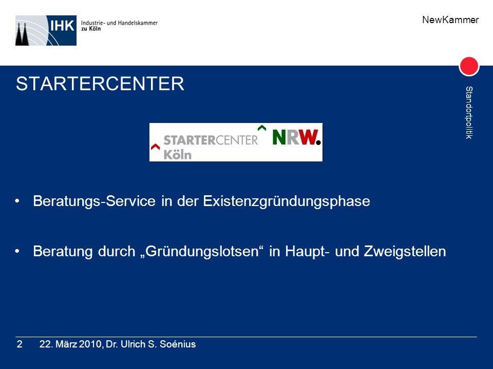 STARTERCENTER Beratungs-Service in der Existenzgründungsphase