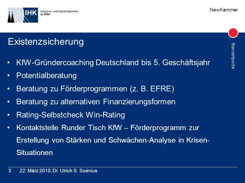 Existenzsicherung KfW-Gründercoaching Deutschland bis 5. Geschäftsjahr