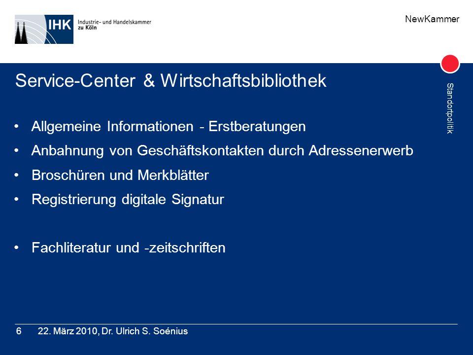 Service-Center & Wirtschaftsbibliothek