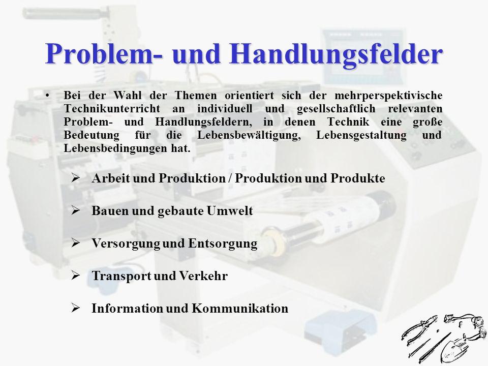 Problem- und Handlungsfelder