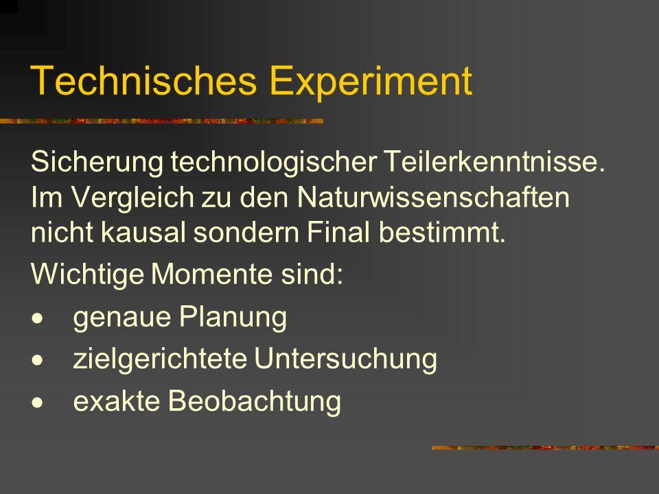 Technisches Experiment