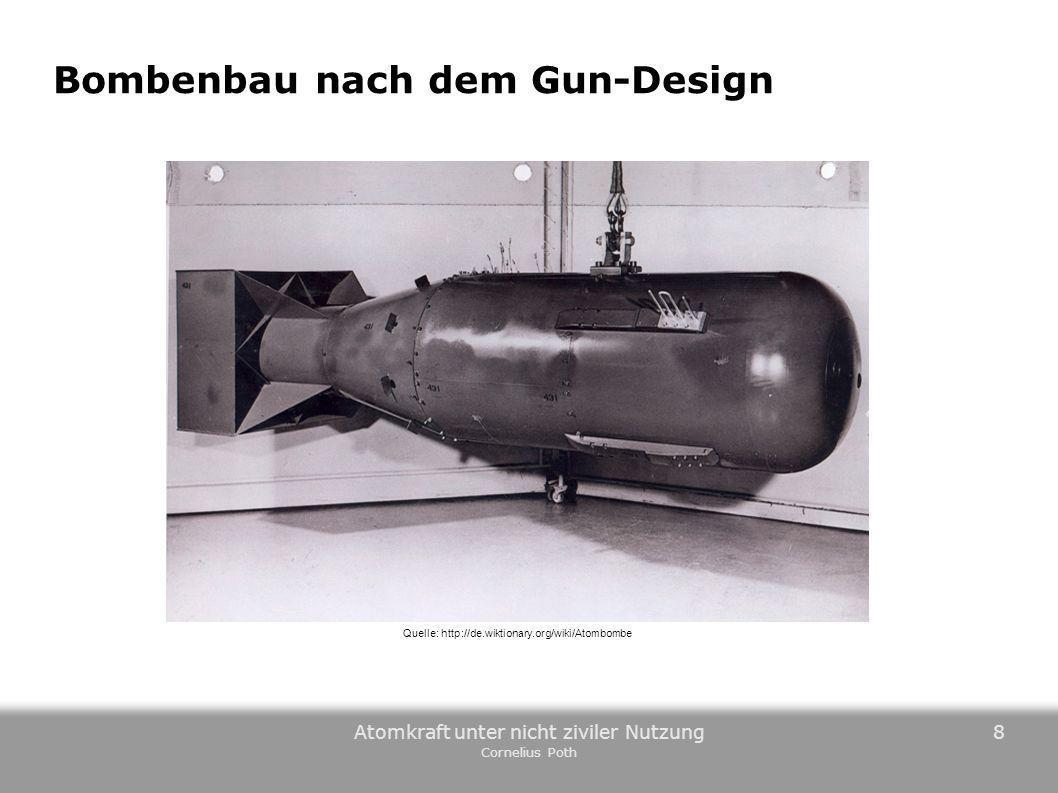 Bombenbau nach dem Gun-Design