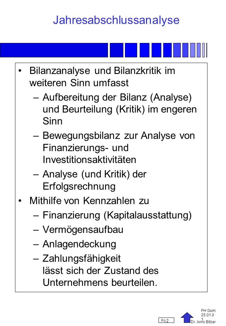 Jahresabschlussanalyse