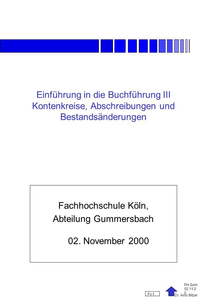 Abteilung Gummersbach 02. November 2000