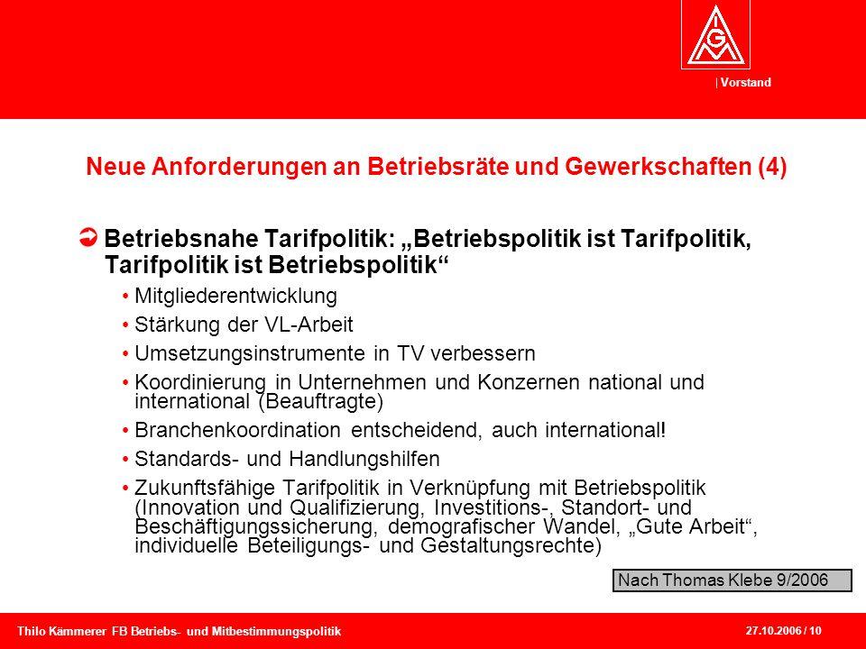 Neue Anforderungen an Betriebsräte und Gewerkschaften (4)