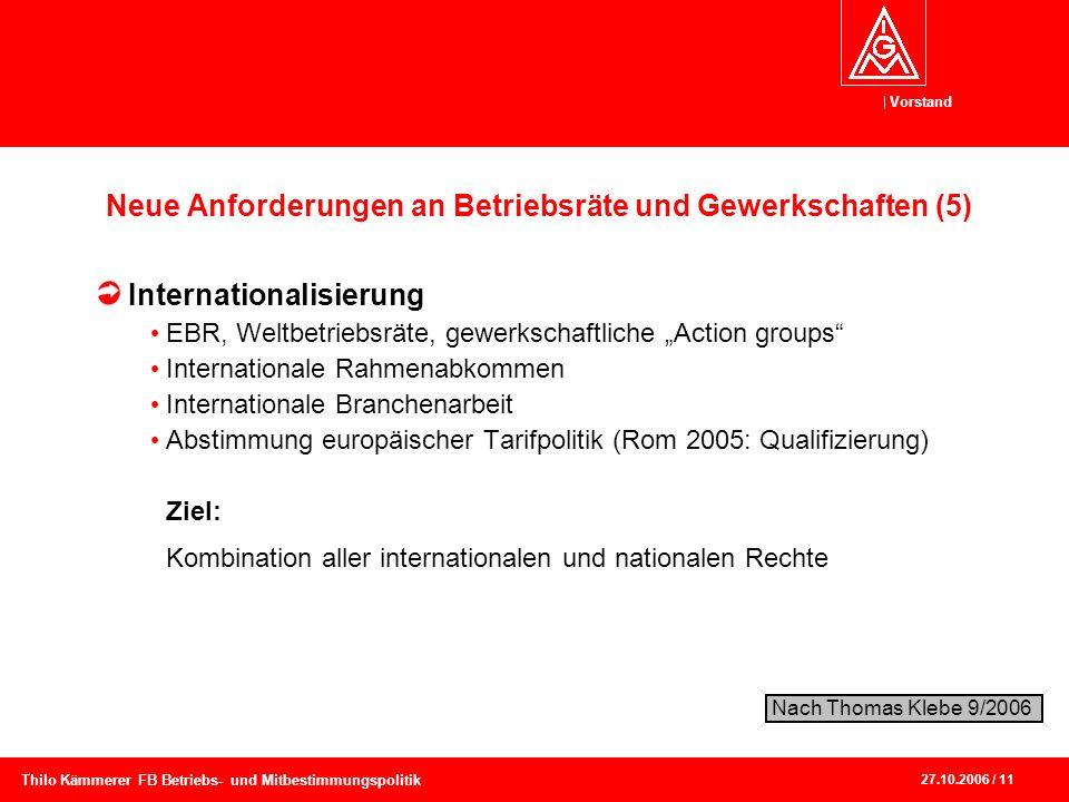 Neue Anforderungen an Betriebsräte und Gewerkschaften (5)