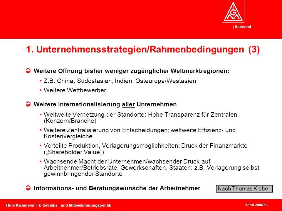 1. Unternehmensstrategien/Rahmenbedingungen (3)