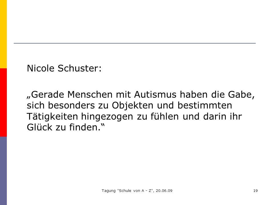 Nicole Schuster: