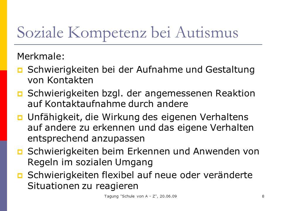 Soziale Kompetenz bei Autismus