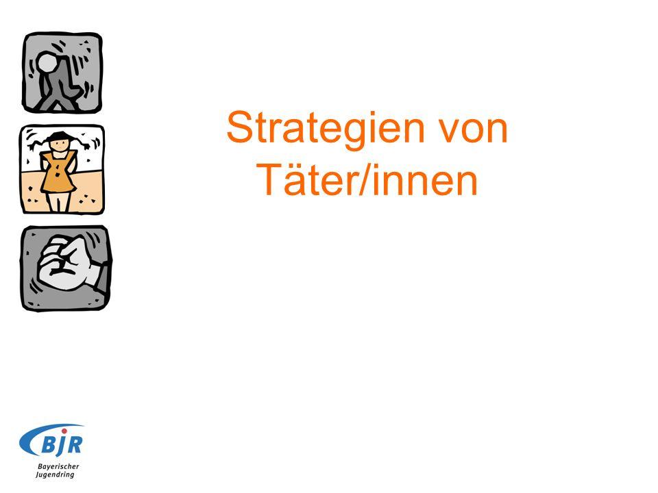 Strategien von Täter/innen