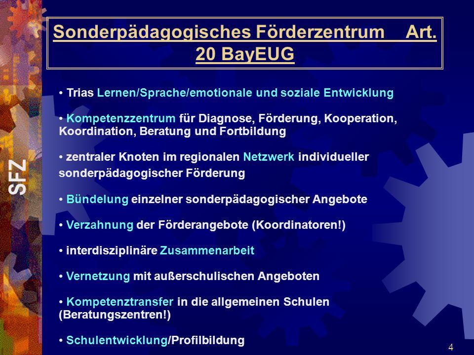 Sonderpädagogisches Förderzentrum Art. 20 BayEUG