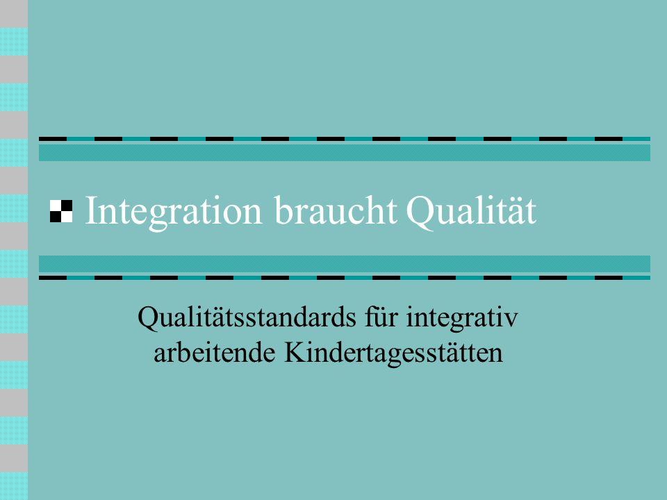Integration braucht Qualität